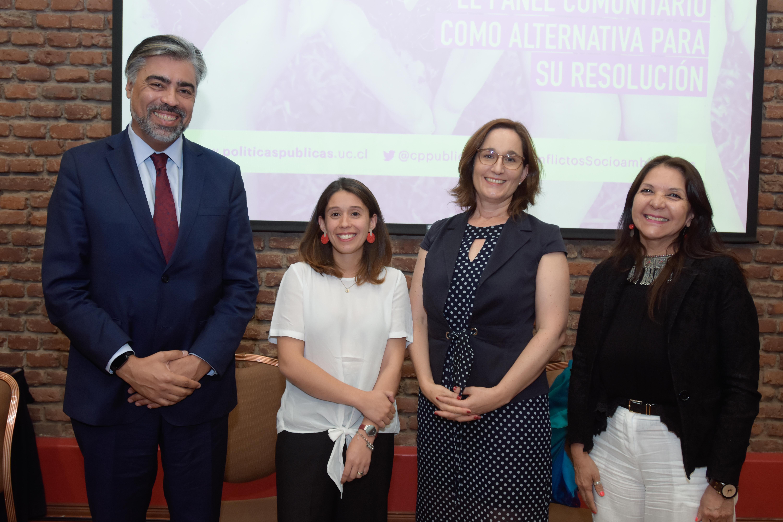 Seminario Conflictos socioambientales: el panel comunitario como alternativa para su resolución
