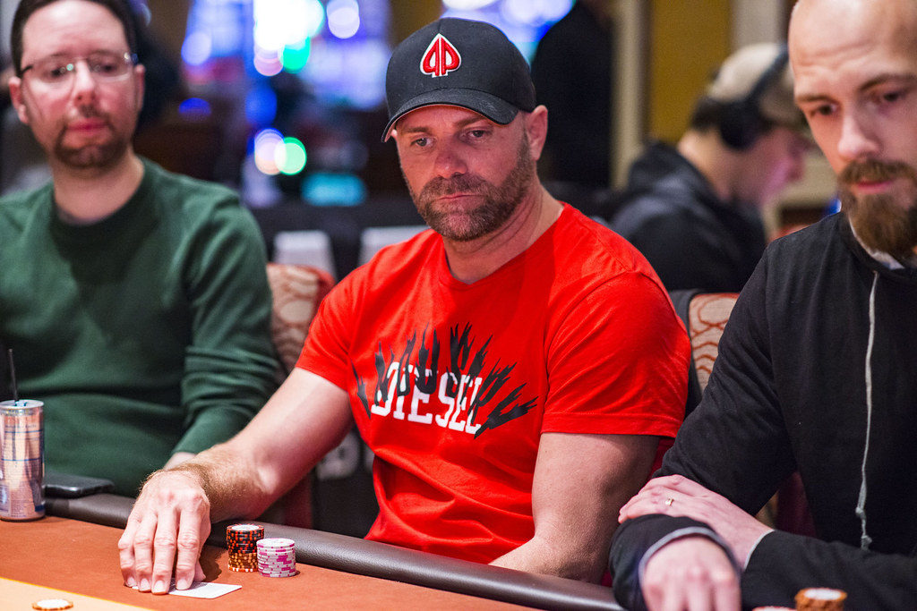 Aaron Van Blarcum Wpt Five Diamond World Poker Classic S18 World Poker Tour Flickr