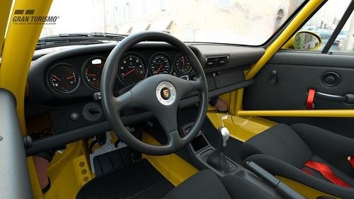 Porsche 911 Carrera RS Club Sport (993) '95 (N300) Cockpit
