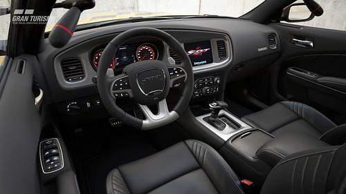 Dodge Charger SRT Hellcat Safety Car (N700) Cockpit