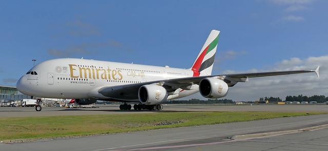 Airbus A380. CHC. NZ