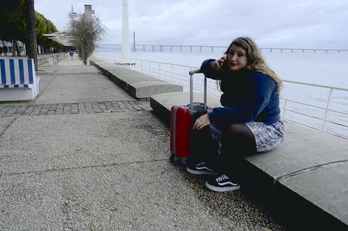 Phone call #street #lisbon #portugal #t3mujinpack