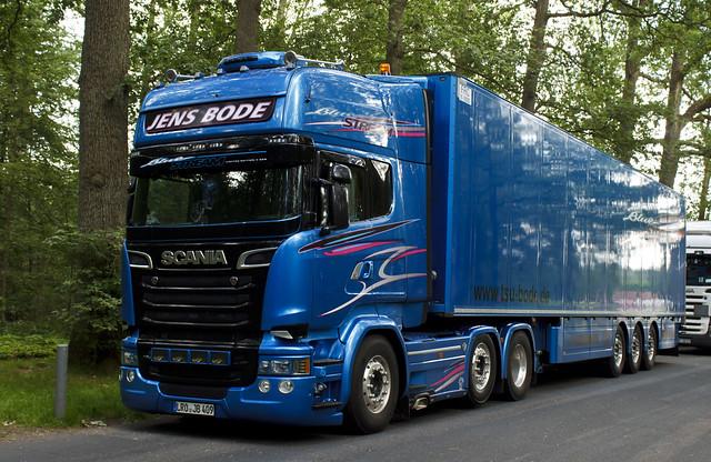 Scania R Streamline Blue Stream