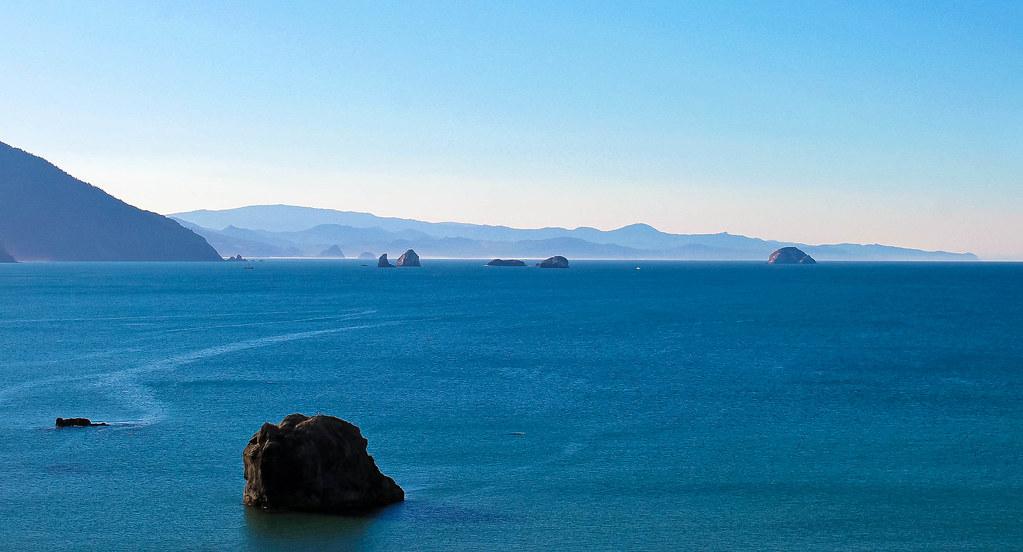 Distant Ocean View