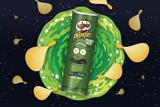 這味道一定不單純?品客洋芋片 x《瑞克和莫蒂》將推出醃黃瓜瑞克「Pickle Rick」獵奇新口味!(Pringles x Rick and Morty)