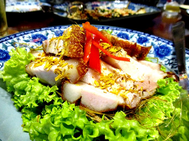 Le Saigon lemon grass pork