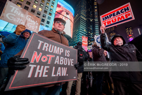 NYC Rally to Demand Congress Votes to Impeach and Remove Trump
