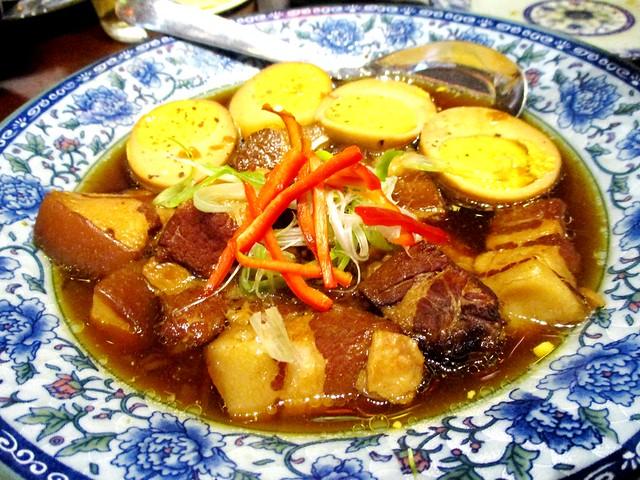 Le Saigon pork in coconut water