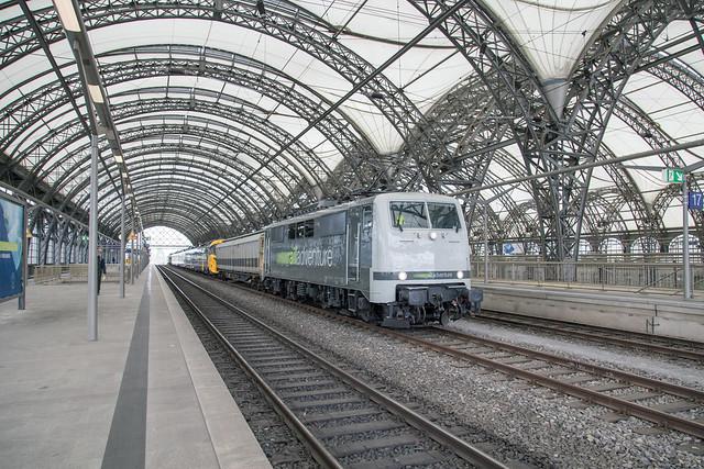 Railadventure 111 222 Dresden Hbf