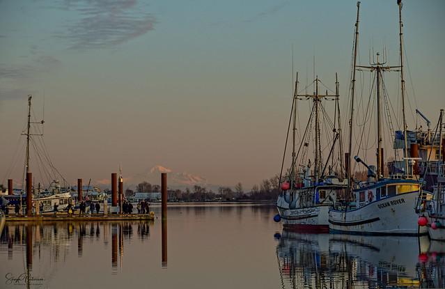 Steveston Fishing Village - Fishermans Wharf