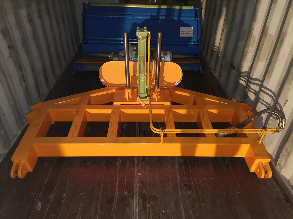 Uzbekistan HR Slitting Machine Loading Shipping 4