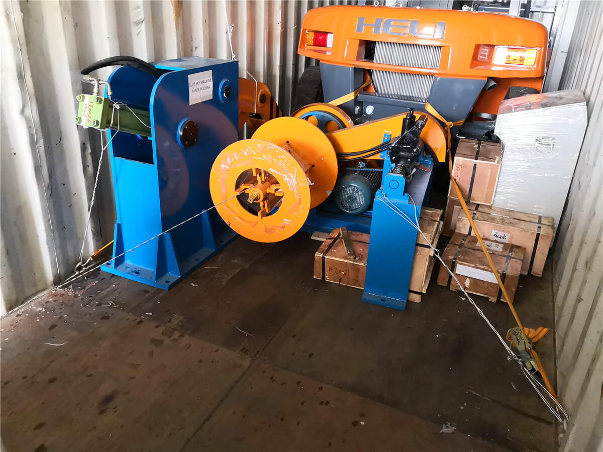 Uzbekistan HR Slitting Machine Loading Shipping 1