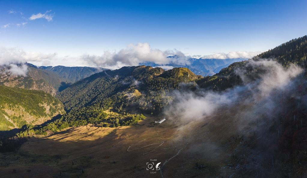 飄渺靈居│Shelter. 三六九│The air view on Mt.Xue