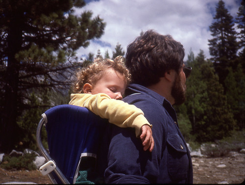 Backpacking in the Sierra Nevada - 1985