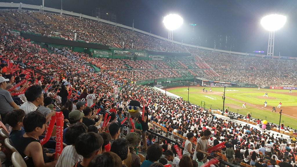Lotte Giants 2017 August