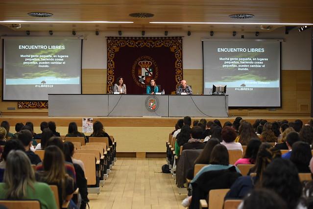 Inauguración del 'Encuentro libres. Adolescentes actuando contra la violencia de género'