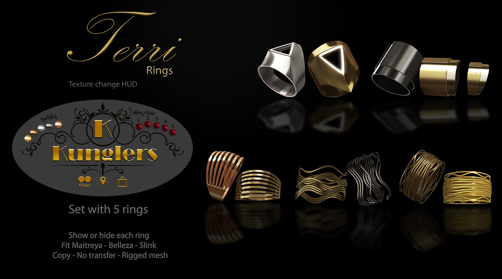 KUNGLERS Terri Rings – vendor