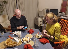Modern dinner guests