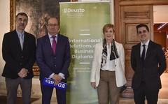 18/12/2019 - Presentación del nuevo Máster en Relaciones Internacionales y Diplomacia Empresarial