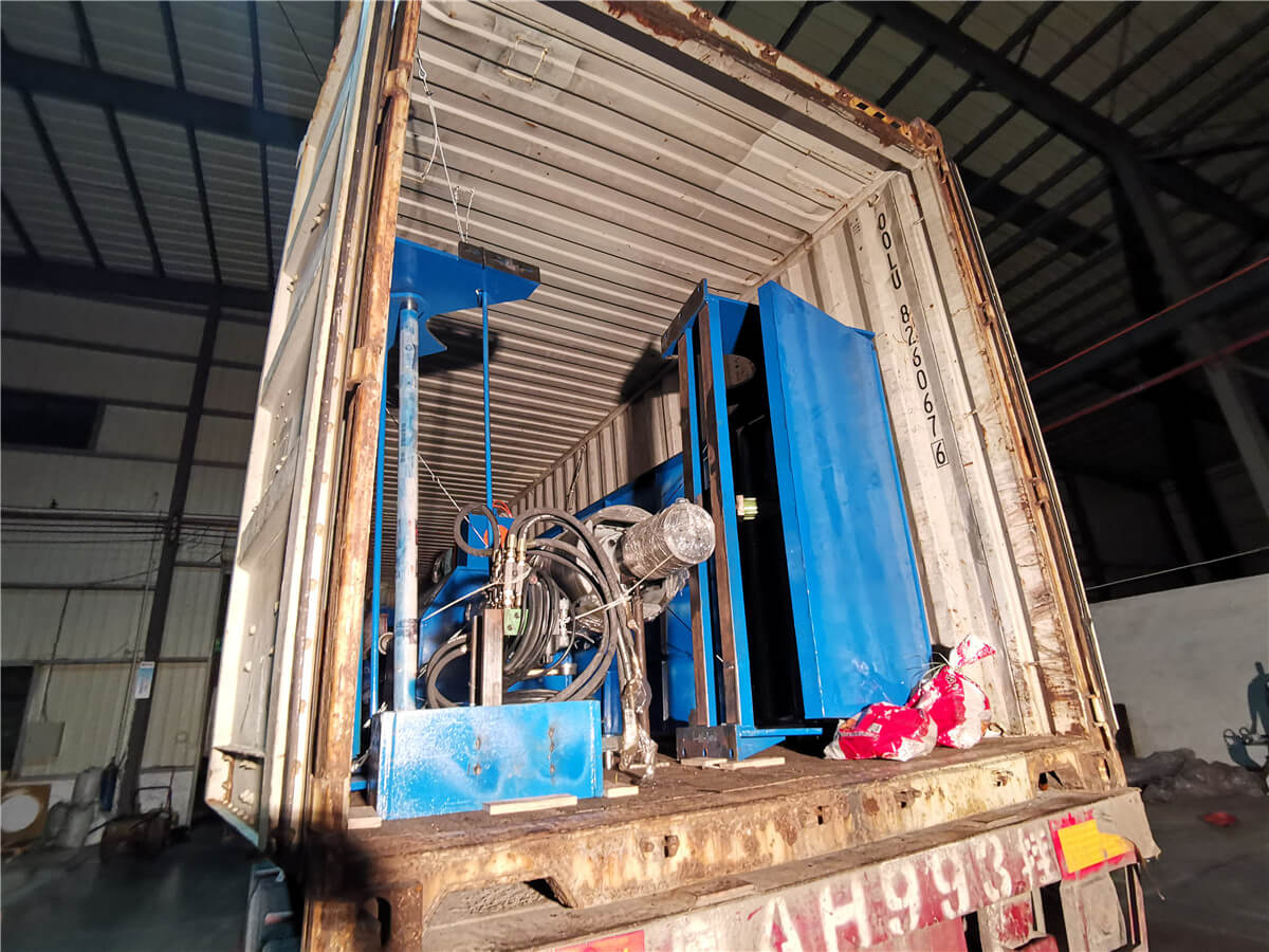 Uzbekistan HR Slitting Machine Loading Shipping 10