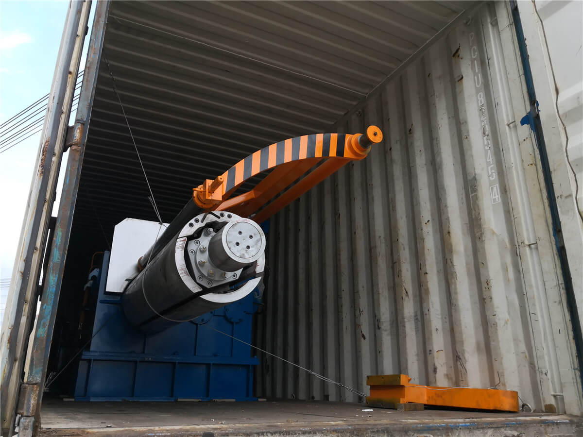 Uzbekistan HR Slitting Machine Loading Shipping 5