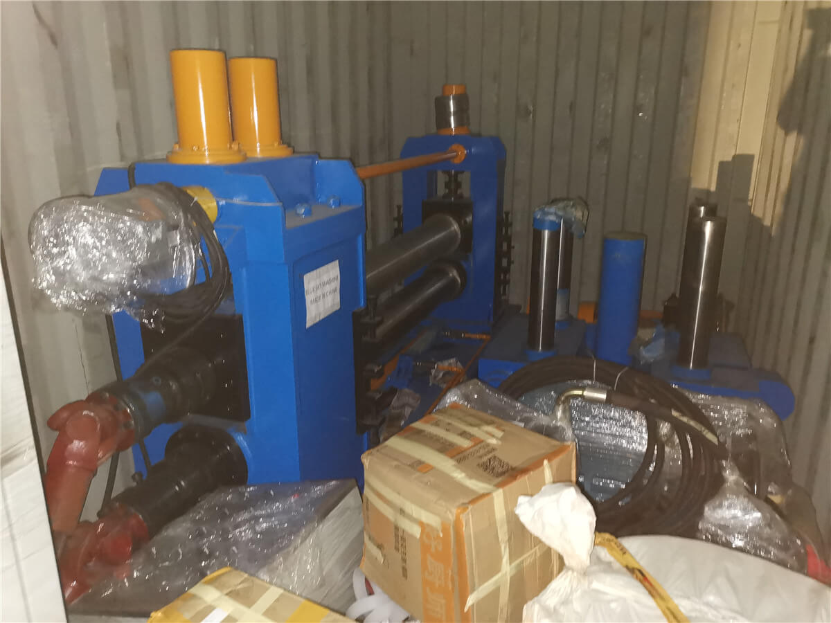 Uzbekistan HR Slitting Machine Loading Shipping 2
