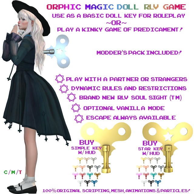 Orphic Magic Doll RLV Game