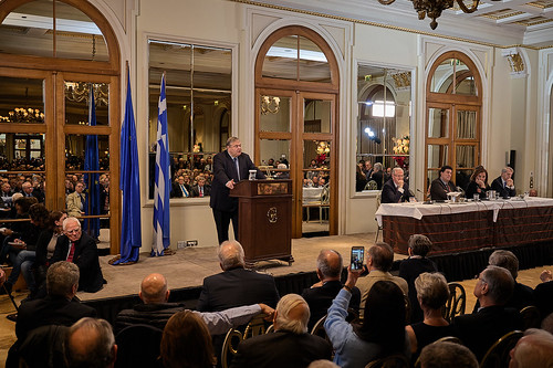 _CS03669_16.12.2019, Αθήνα: «Οριοθέτηση θαλασσίων ζωνών στη Μεσόγειο και ελληνοτουρκικές σχέσεις»