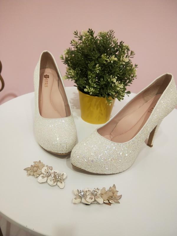 白紗禮服婚鞋