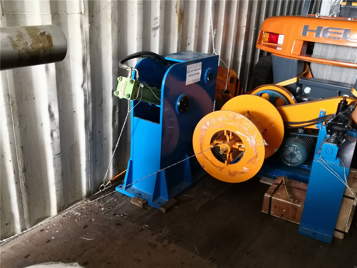 Uzbekistan HR Slitting Machine Loading Shipping 3