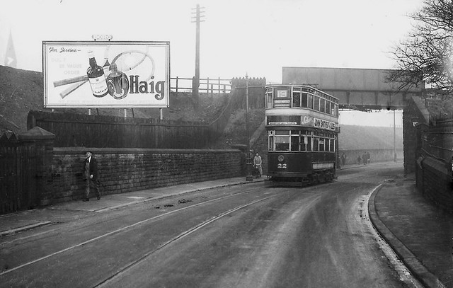 Leeds tram no 22