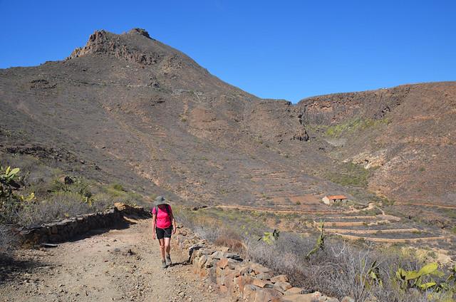 Walking route, San Miguel de Abona, Tenerife