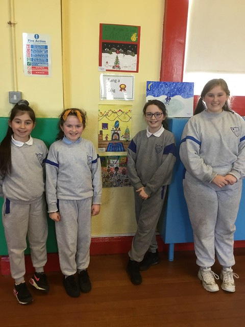 5th Class Art Competition Winners