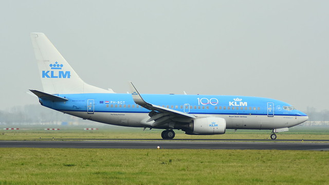 Boeing 737-7K2 c/n 38634 KLM Royal Dutch Airlines registration PH-BGT