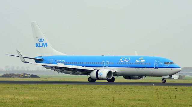 Boeing 737-8K2 c/n 30359 KLM Royal Dutch Airlines registration PH-BXL