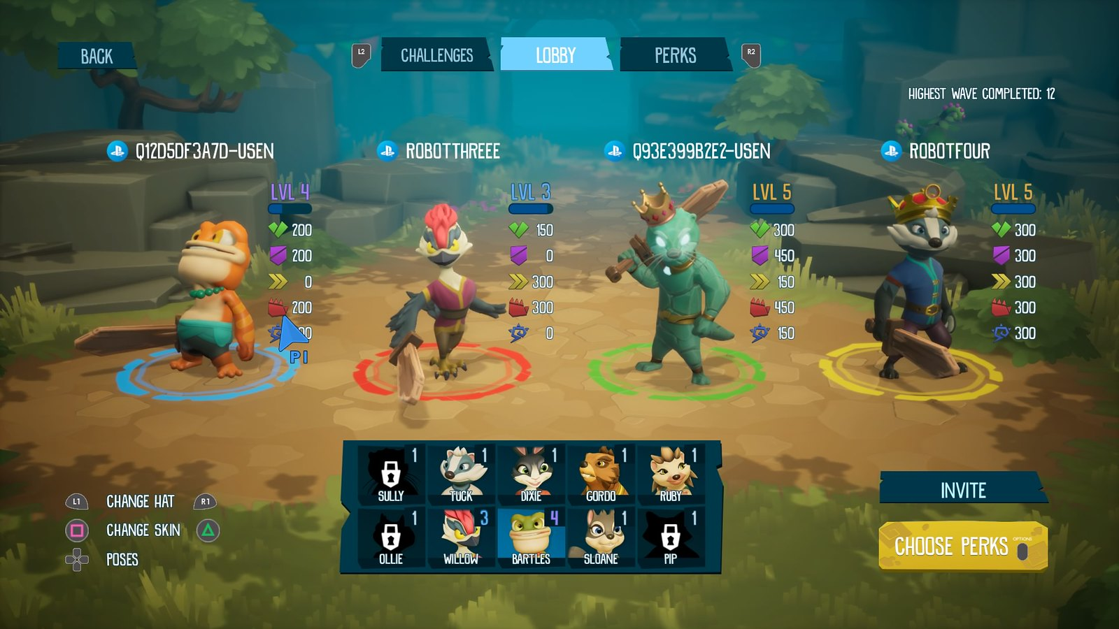 ReadySet Heroes on PS4