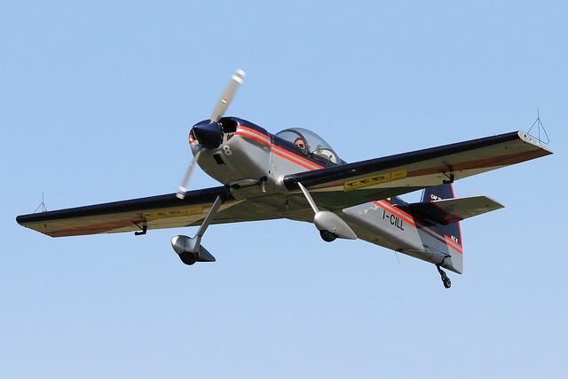 I-CILL - Mudry CAP-21 - private 🇮🇹 @ LCV