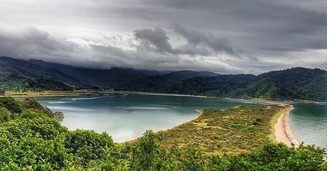 Our destination! #theendisinsight #wainui #abeltasmannationalpark #decemberadventure #day2