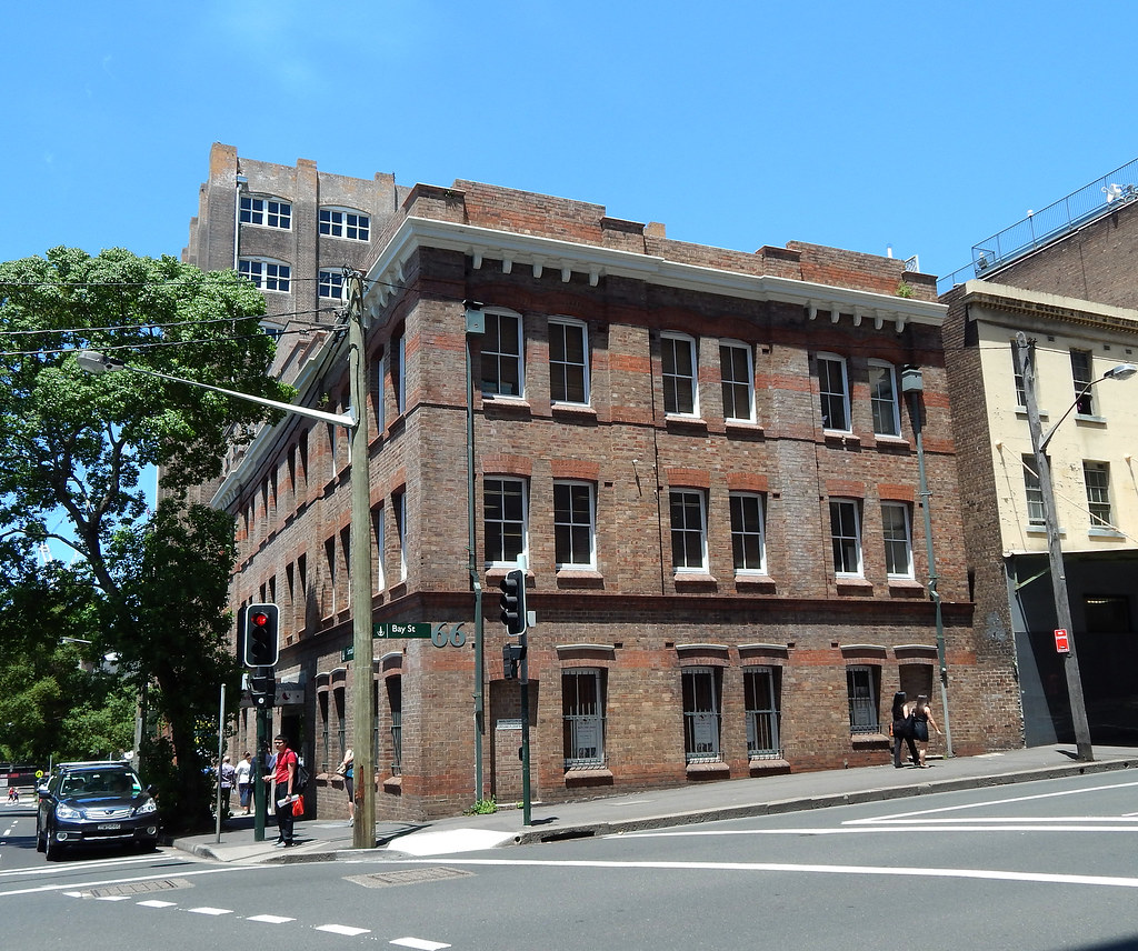 Building, Ultimo, Sydney, NSW.