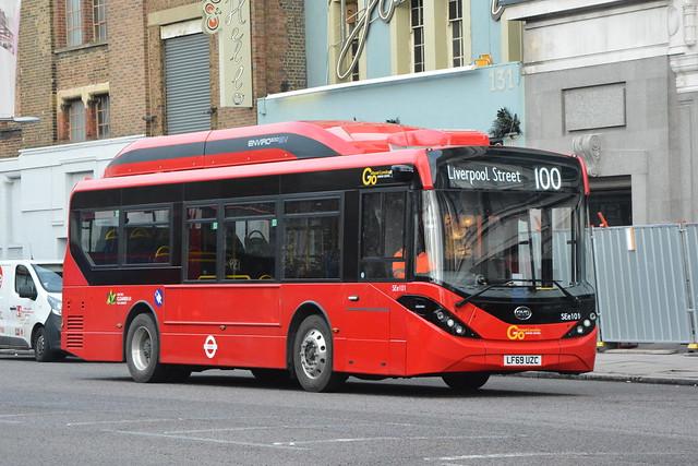 LF69 UZC (SEe101) Go-Ahead London Central