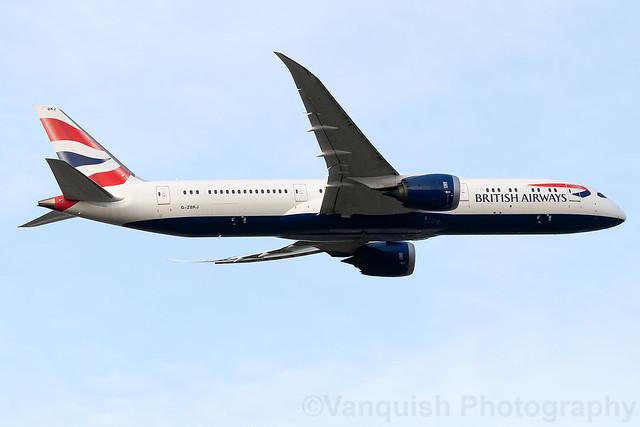 G-ZBKJ British Airways B787-9 Dreamliner London Heathrow