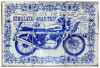 #himalaya #littletibetnepal #roadtrip #royalenfield #henribanks #mountaintour #marble #tiles #italianmarble