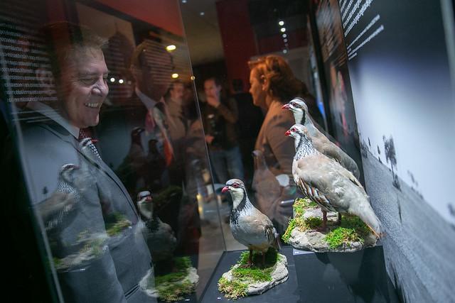 Inauguración de la exposición 'La caza: un desafío en evolución'