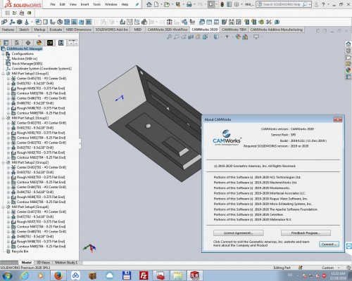 Programming with CAMWorks 2020 SP0 for solidworks x64 full license