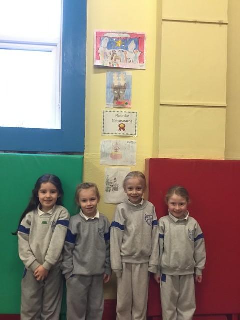 Senior Infants Art Competition Winners