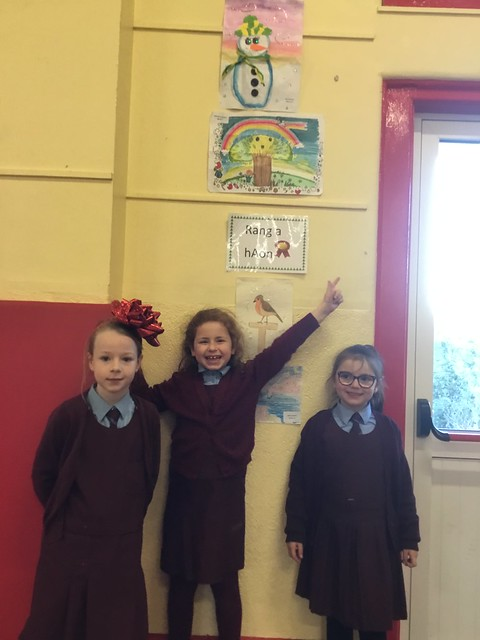1st Class Art Competition Winners