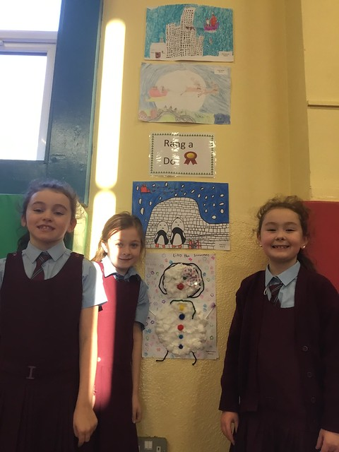 2nd Class Art Competition Winners