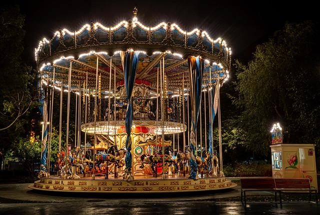 Carousel in Santander - Spain