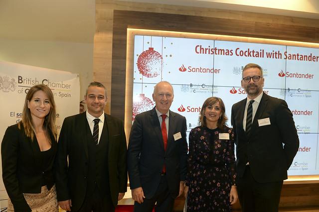 Christmas Cocktail with Santander