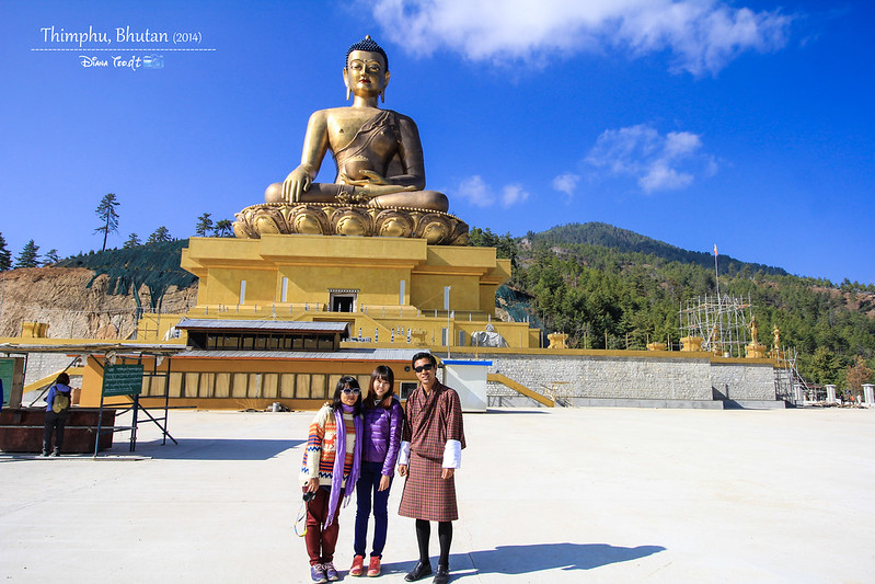 Bhutan Day 2 - Thimphu Buddha Dordenma With Our Tour Guide